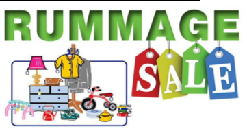 Greatest Ever Rummage Sale-JULY 26, 27, 28