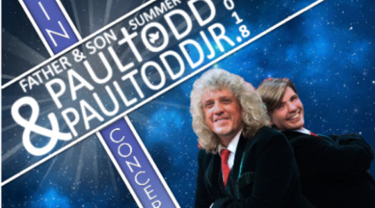 PAUL TODD CONCERT-JULY 20, 7 PM