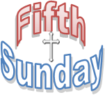 5TH SUNDAY COMBINED WORSHIP-MARCH 31- 10 AM