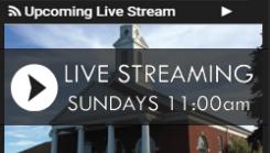 Live Worship-11 AM on PALM SUNDAY, APRIL 5